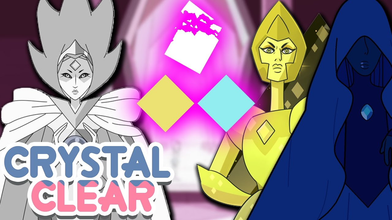 DIAMOND CIVIL WAR? WHITE VS YELLOW & BLUE [SU Theory Response ...