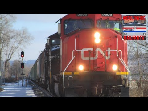 Foreign Power, Heritage Unit, Switcher, Sweet Lashups And More! | Railfanning In Amsterdam, NY