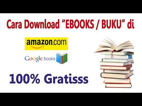 CARA DOWNLOAD EBOOK DI Amazon Dan Google Books  Secara GRATIS
