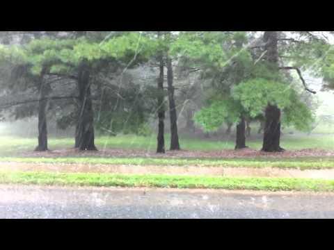 Hail Storm in Oakton, VA