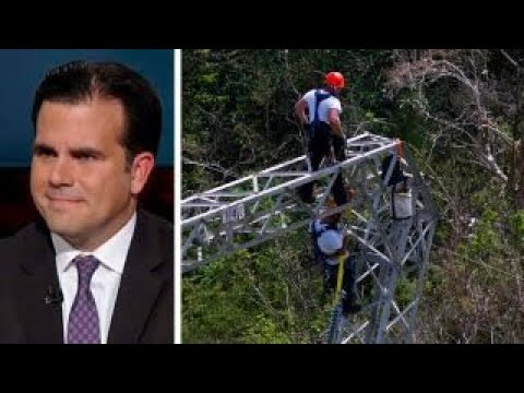 Puerto Rico governor on efforts to restore power to island