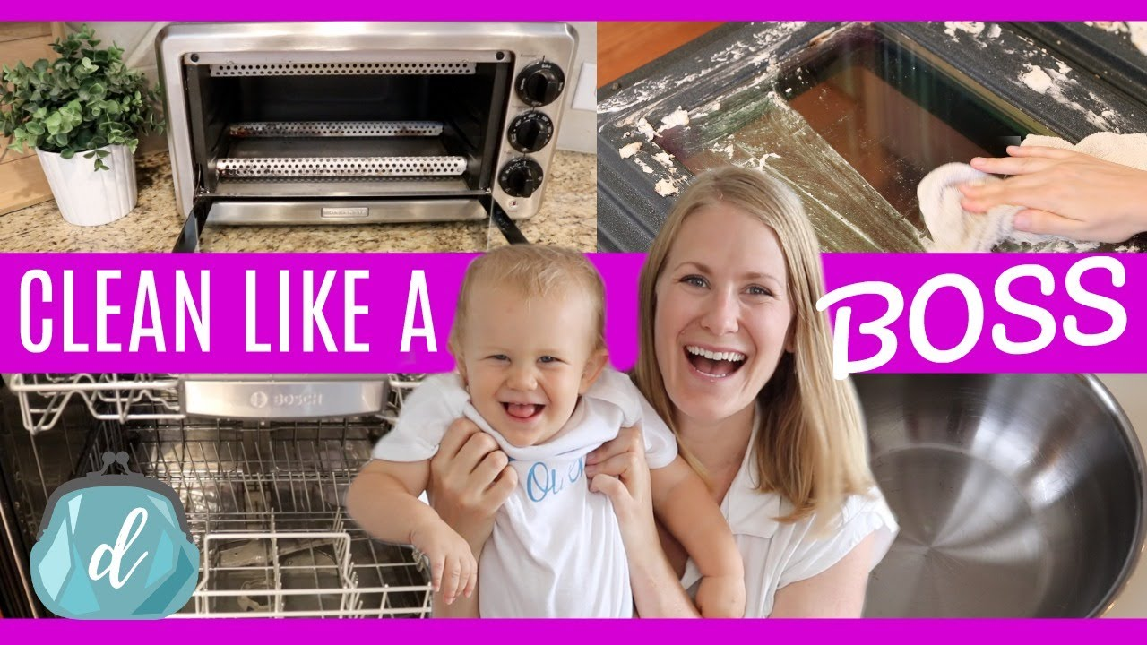 kitchen cleaning motivation how to clean appliances like a boss