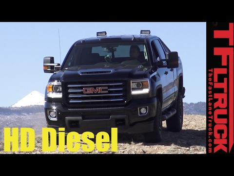 2017 GMC Sierra 2500HD All Terrain X Off-Road First Drive Review