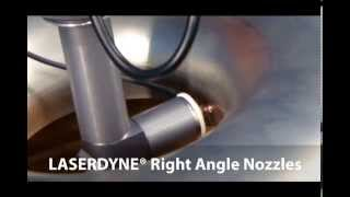 prima power laserdyne right angle nozzle for laser cutting welding and drilling