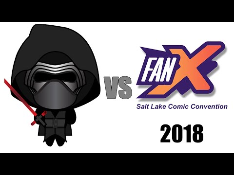 Kylo-Ren Hates FanX Salt Lake Comic Convention 2018