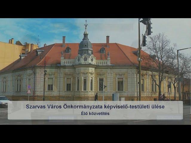 Szarvas Város Önkormányzatának Képviselő - testületi ülése (2019. 07. 26.)