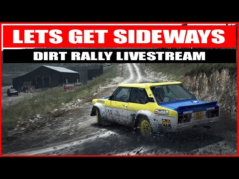 DiRT Rally 1.0 - Big Jump Over Crest - OH HELL YES  - Livestream