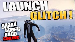 GTA 5 Funny Glitches - Epic Launch Glitch Car or Player Launch !! (GTA 5 Glitches/Funny Moments)