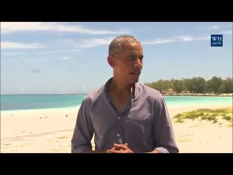 Obama On Midway Island - Full Press Conference