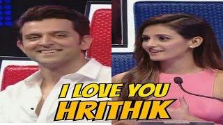 TV Dancer MOHAN SHAKTI says I LOVE YOU to HRITIK ROSHAN on live TV!