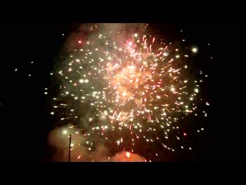 Hornets Rugby Club Firework Display (Nov 5th 2014) W-S-M Somerset