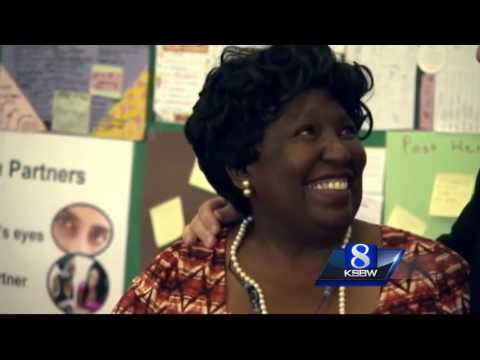 Seaside teacher honored with Crystal Apple Award