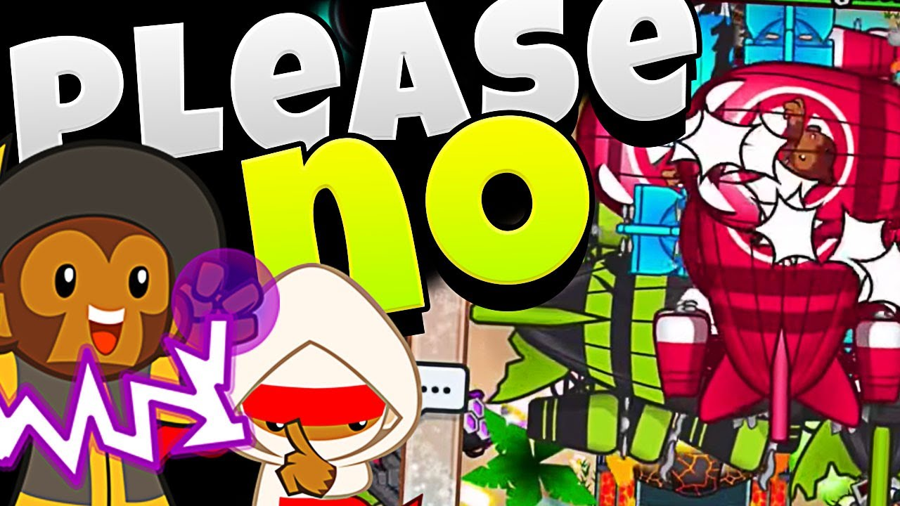 BLOONS TD BATTLES - PLEASE NO!! I TRY FOR LATE GAME!