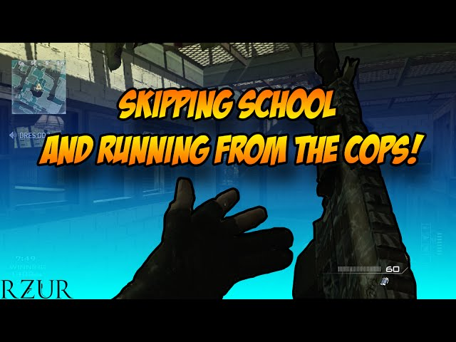 SKIPPING SCHOOL AND RUNNING FROM THE COPS