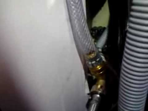 How to Install a Water Supply Line / Hose to a dryer for the Steam