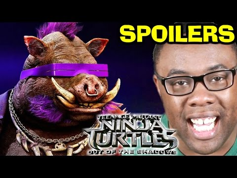 NINJA TURTLES Out of the Shadows Movie SPOILERS REVIEW