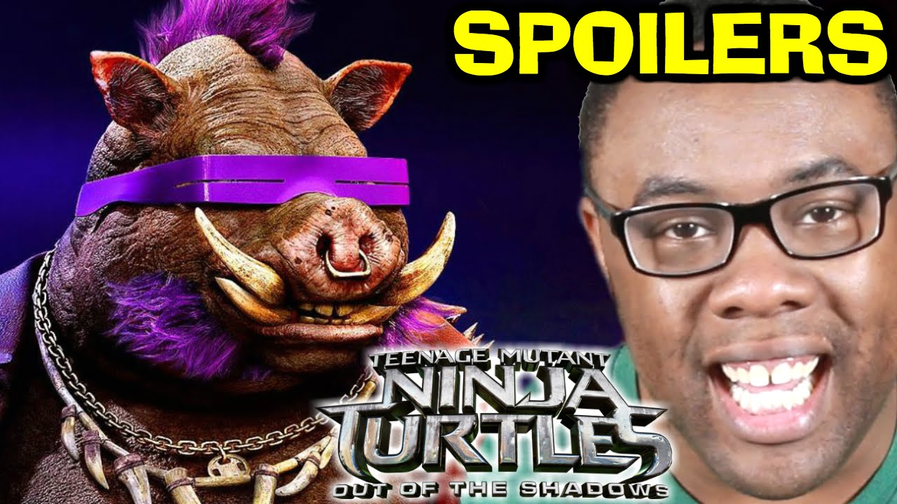 NINJA TURTLES Out of the Shadows Movie SPOILERS REVIEW - YouTube
