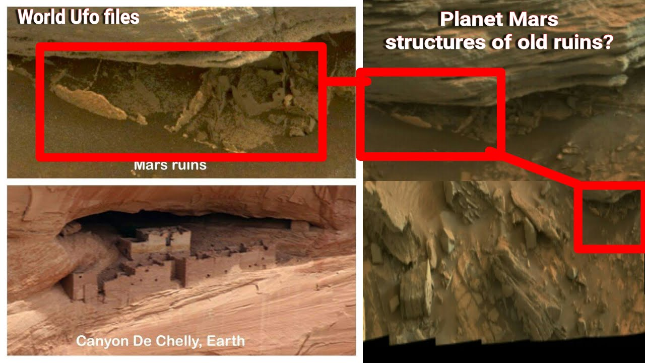 NASA structures planet MARS Ancient RUINS square object's ...