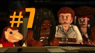 LEGO Pirates of the Caribbean #7 a touch of destiny (walkthrough) Xbox one (Dead man