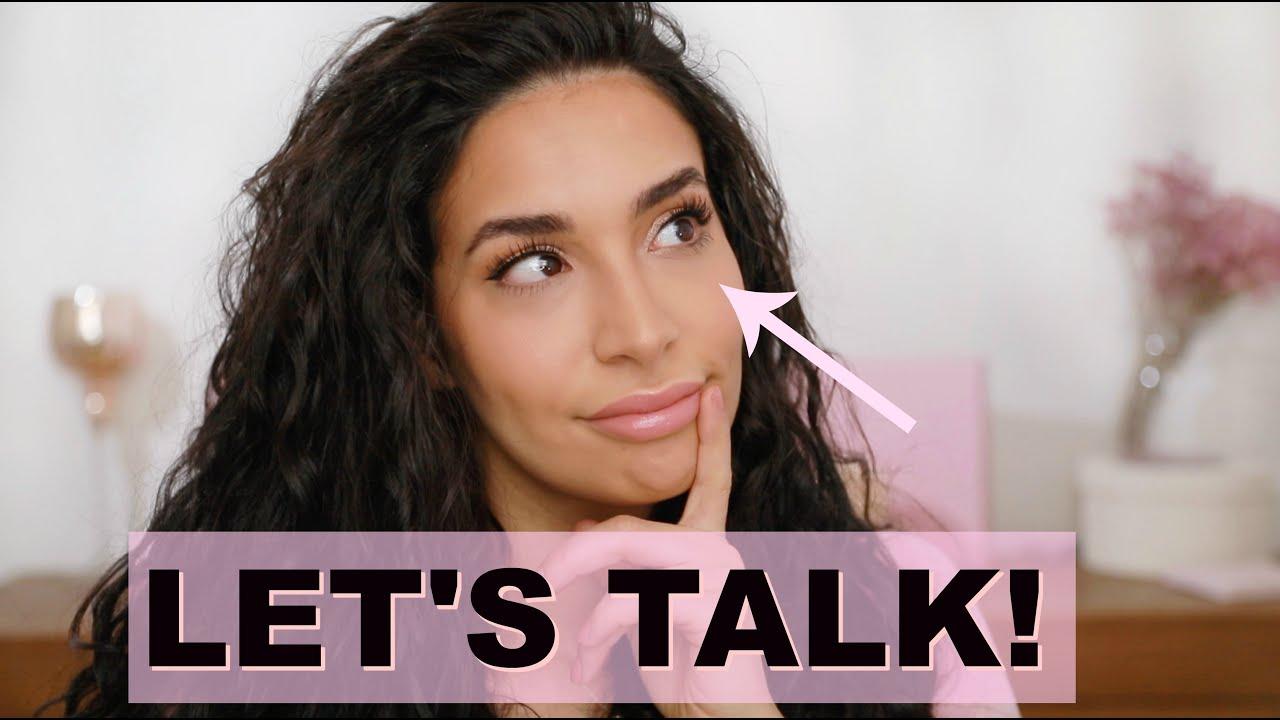 Augenschatten entfernen lassen..?Wohnung gekündigt? Style & Talk: Was so abgeht 😱 - Lamiya Slimani