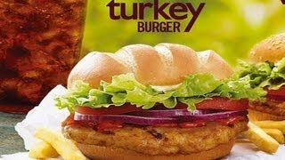 We Shorts - Burger King Turkey Burger