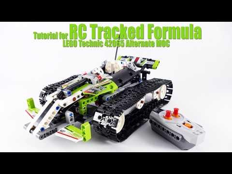 Tutorial for RC Tracked Formula LEGO Technic 42065 Alternate MOC