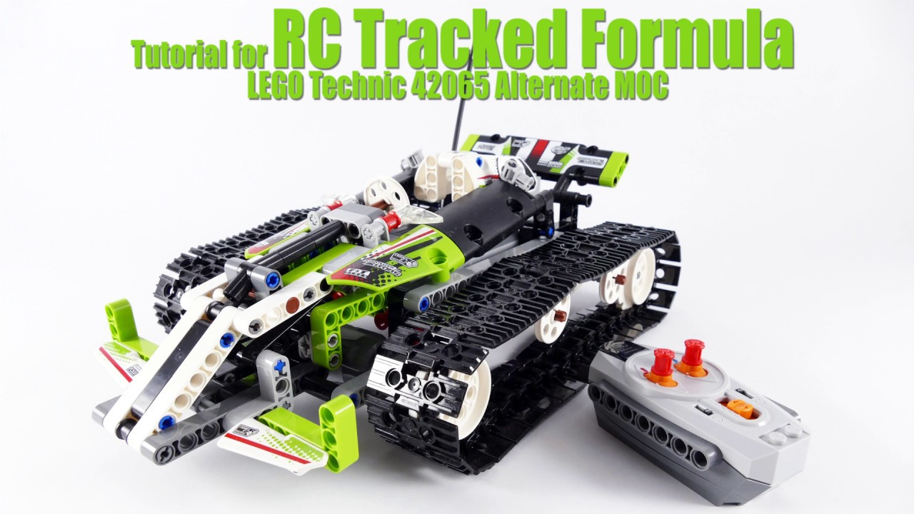 tutorial for rc tracked formula lego technic 42065. Black Bedroom Furniture Sets. Home Design Ideas