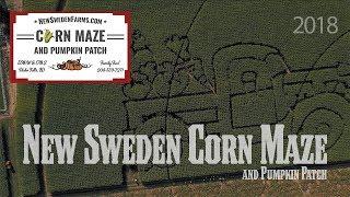 New Sweden Corn Maze 2018