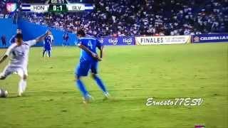 Gol de Richard Menjivar - El Salvador 1-0 Honduras - Copa Centroamericana