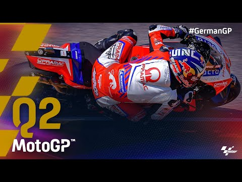 Last 5 minutes of MotoGP™ Q2 |2021 #GermanGP