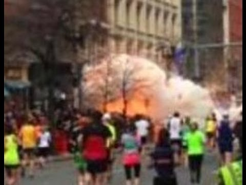 Video of Explosions at the Boston Marathon 2013