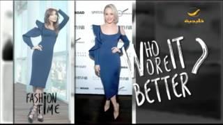من الأفضل في هذا الفستان: نانسي عجرم أم رايتشل ماكآدمز؟