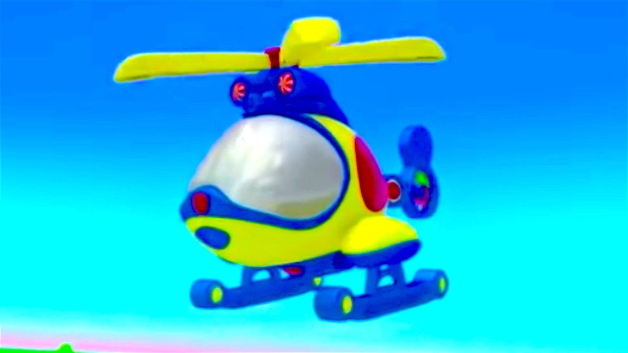 New kids cartoon about helicopter