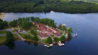 [DRONE] Lac de Saint-Pardoux - Site de Santrop