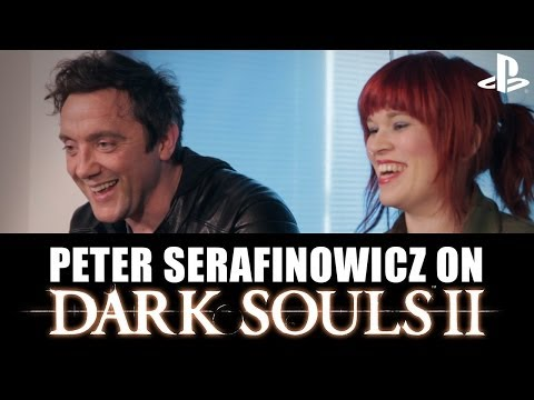 Let's Play Dark Souls 2 With Peter Serafinowicz - New Dark Souls 2 PS3 Gameplay