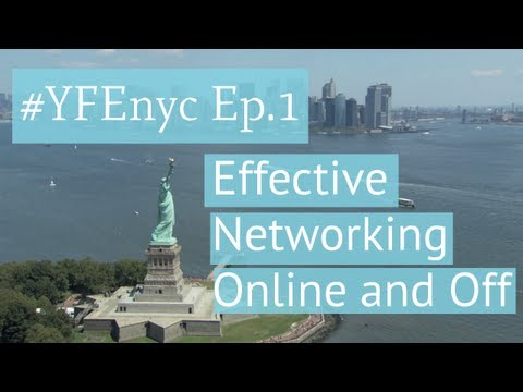 Effective Networking for Entrepreneurs On and Offline with Selena Soo (#YFEnyc Ep. 1)