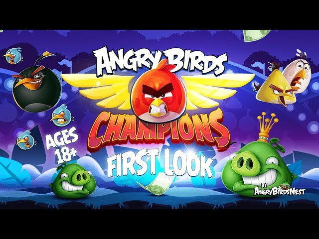 Angry Birds Champions Lets Players Fling Pheasants For Real Money