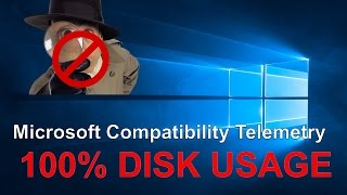 gET RID OF Microsoft Compatibility Telemetry Process