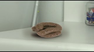 Squashing poop