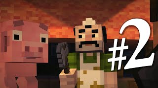 Прохождение Minecraft Story Mode #2 ЗЛО ПРОБУДИЛОСЬ!