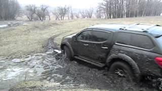 ТЕСТ-ДРАЙВ Mitsubishi L200,Triton Andrikos Yukhnevich