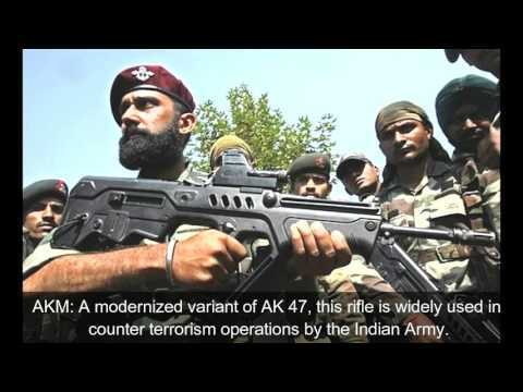 TOP 27 Pistols, Assault Rifles, Snipers And Machine Guns Of Indian Armed Forces
