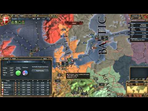 Europa Universalis IV Nations - Denmark, Sweden, Norway