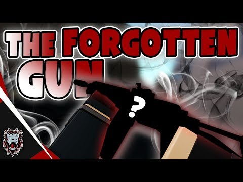 Phantom Forces - THE FORGOTTEN GUN! | This Gun Is So GOOD!
