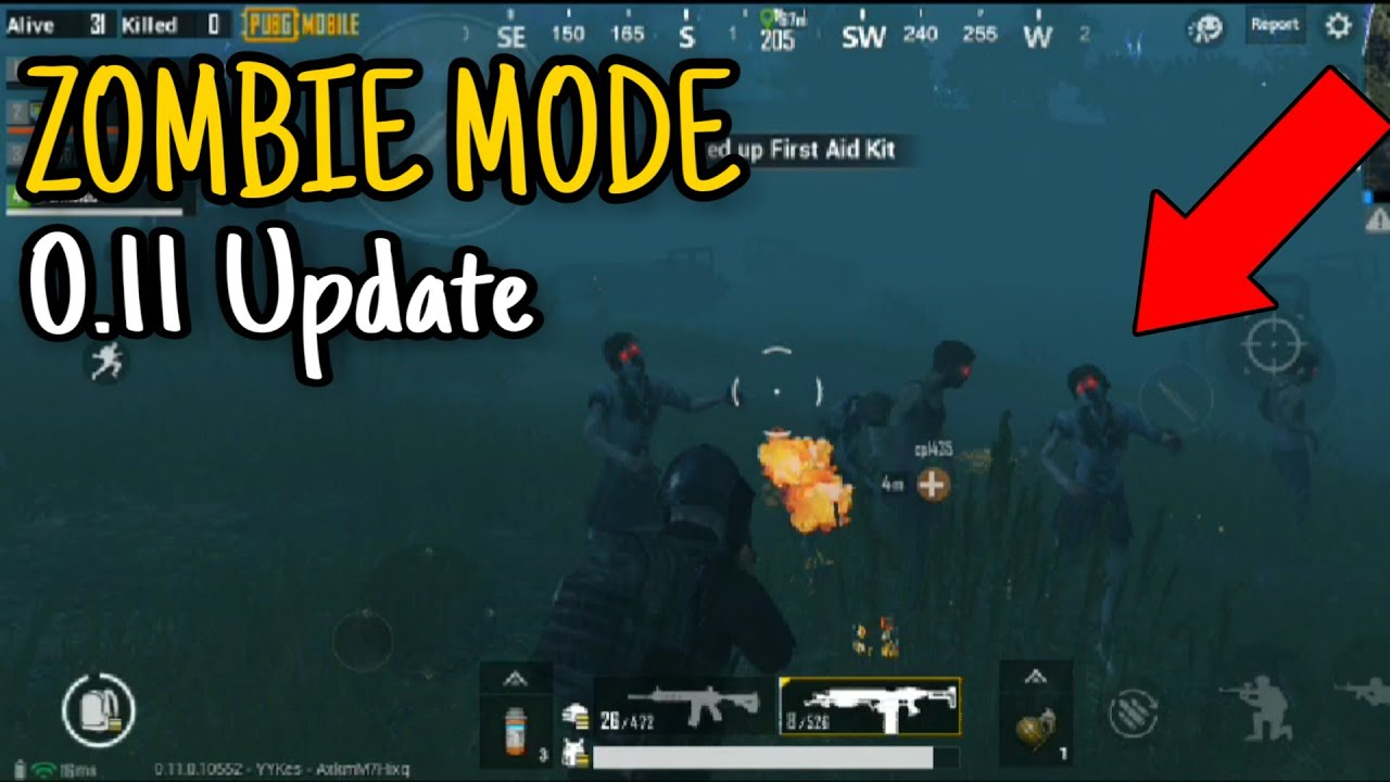 Zombie Mode is Here in PUBG Mobile | 0.11 New Update