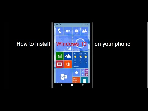 How to install Windows 10 on your phone