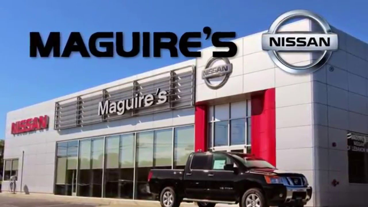 Shop Tires in Lebanon PA | Maguires Nissan - YouTube