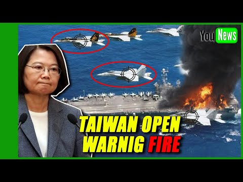 Beijing sends 25 war jets into Taiwan airspace, Taiwan open fire!