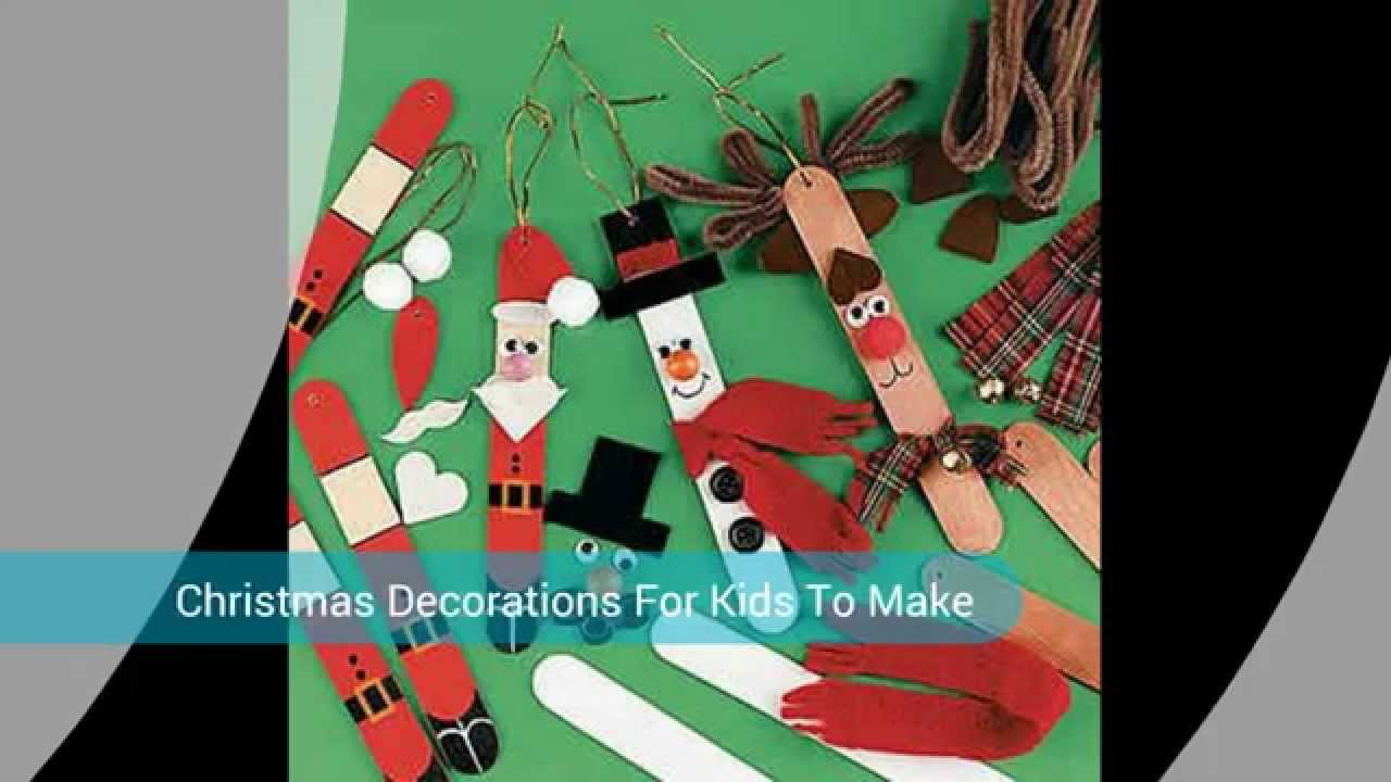 Home Made Christmas Decorations Youtube