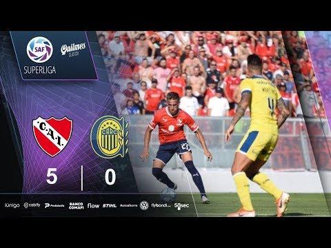 Fecha 18: resumen de Independiente - Rosario Central